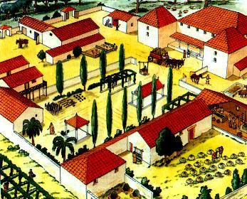 Het oude rome wonen for Wonen op een landgoed